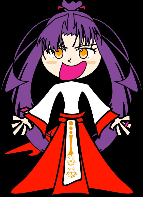 Free Purple girl