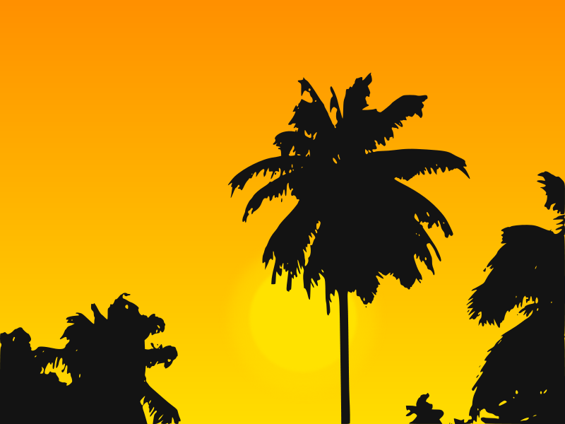 Free Tropic Sunset