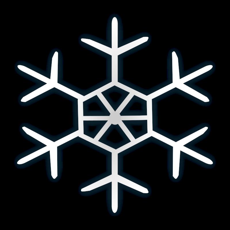 Free Snow flake icon 4