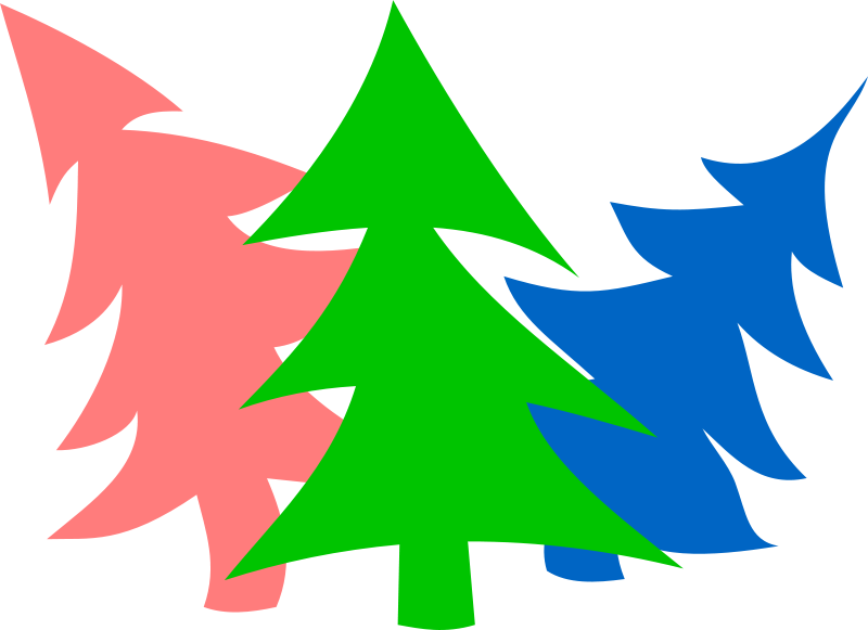 Free Merry New-Year Firs by Rones