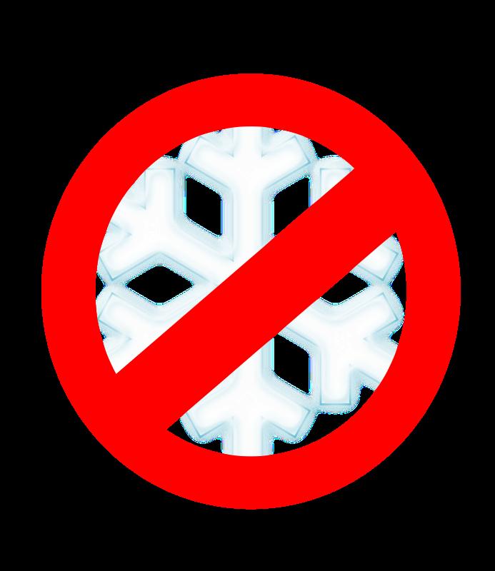 Free No to snow!