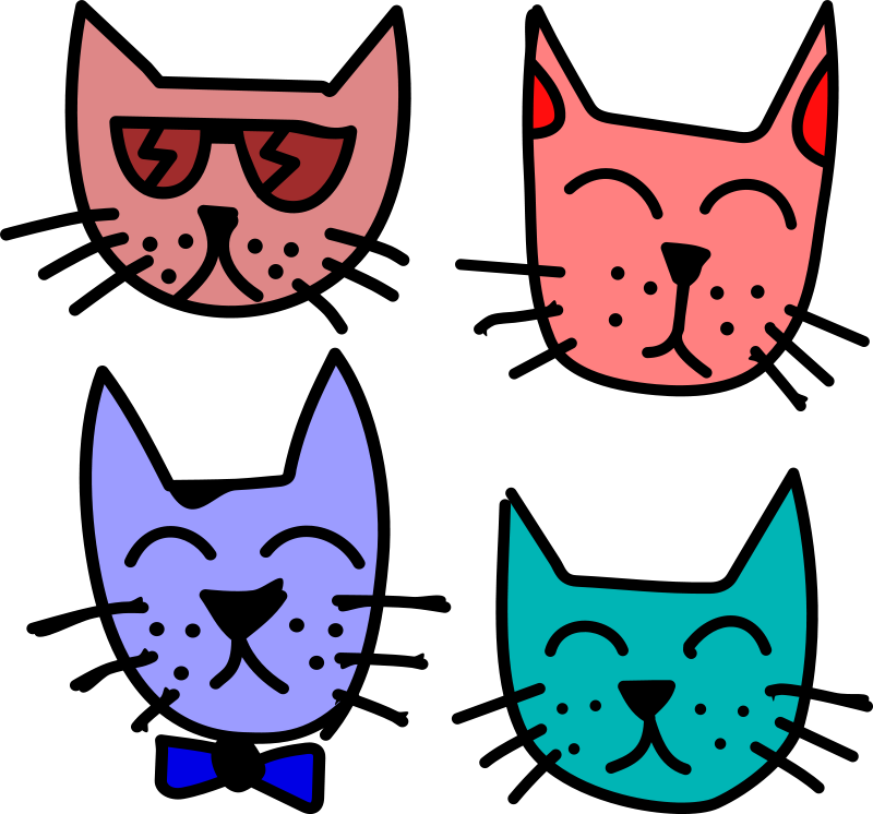 Free Graffiti Cats by Rones
