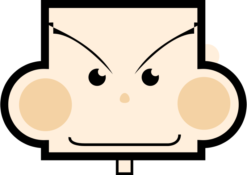 Free Clipart: Rectangle boy | dcatcherex