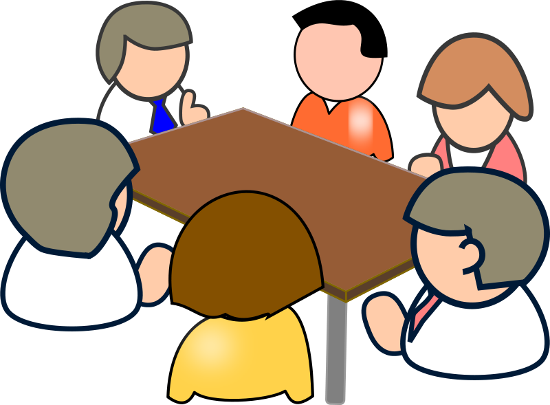 Free Clipart: Meeting | People | yves_guillou