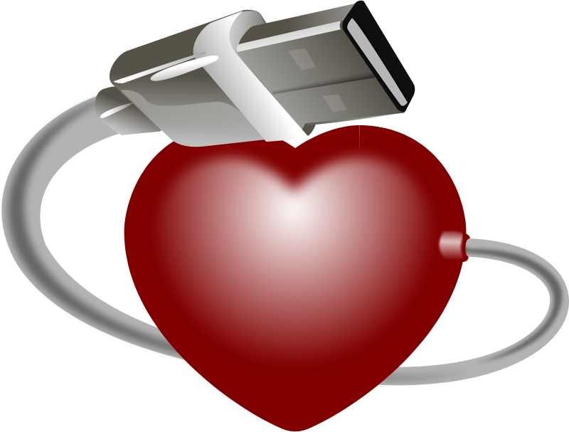 Free USB Heart