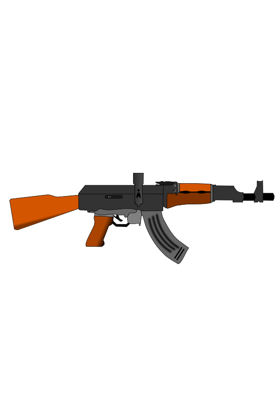 Free Ak47 gun