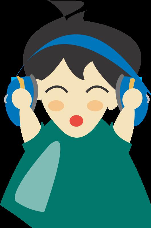 Free Boy with headphone4