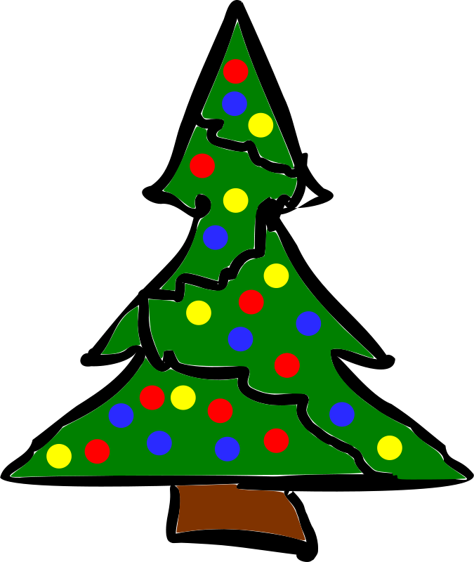 Free rough-xmas-tree