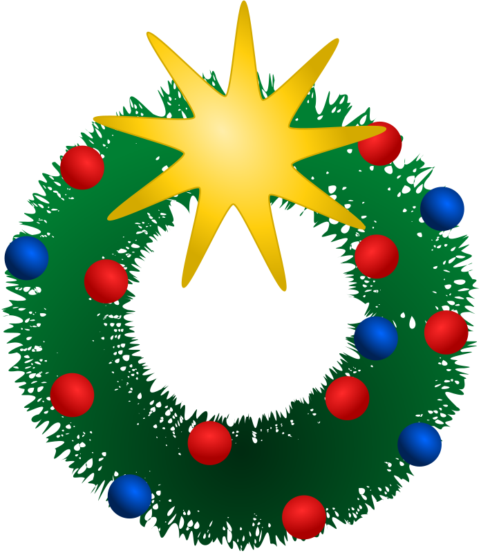 Free Festive Wreath