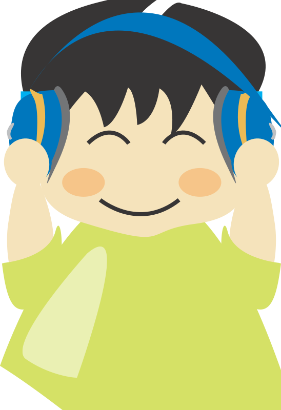 Free Boy with headphone1
