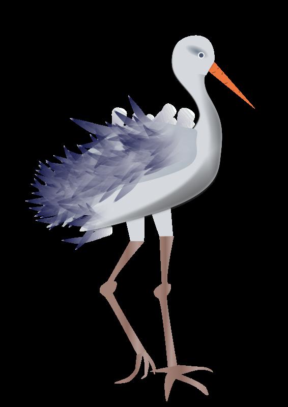 Free Bird with legs