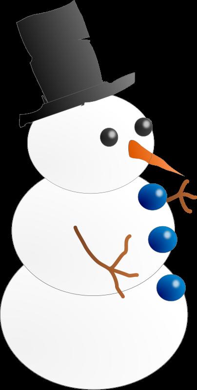 Free Snow-man. Hombre de nieve