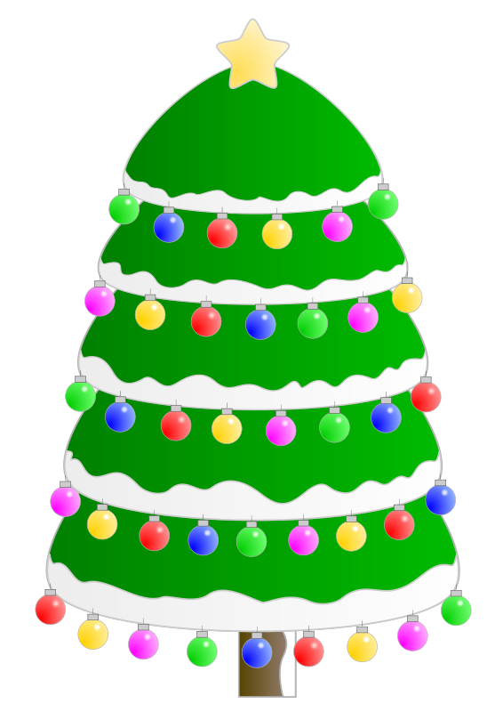 Free Christmas tree. Arbol de Navidad