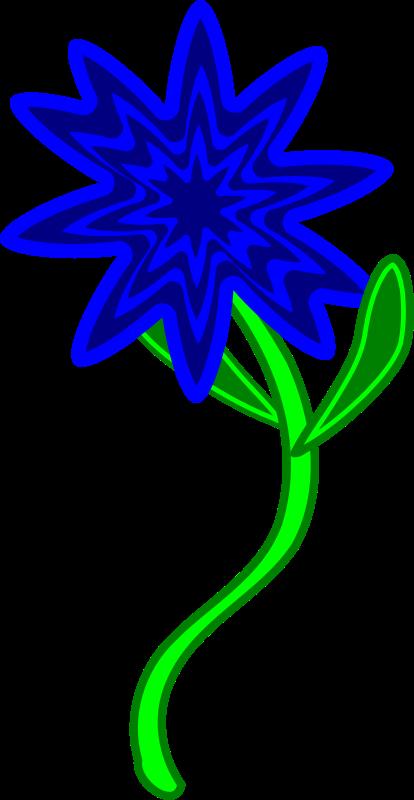 Free Triptastic Blue Flower