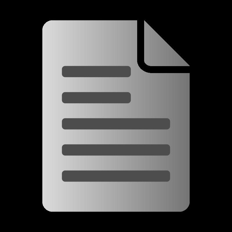 Free Text File Icon