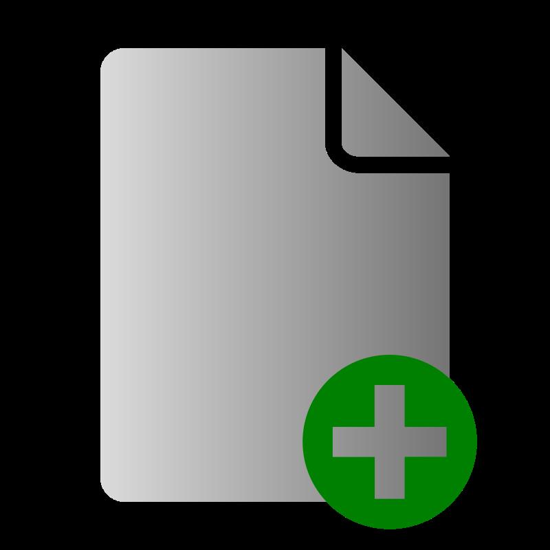 Free File Add Icon