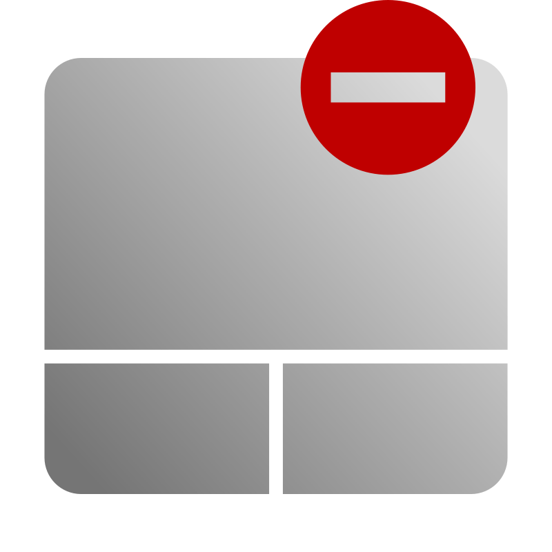 Free Touchpad Disable Icon
