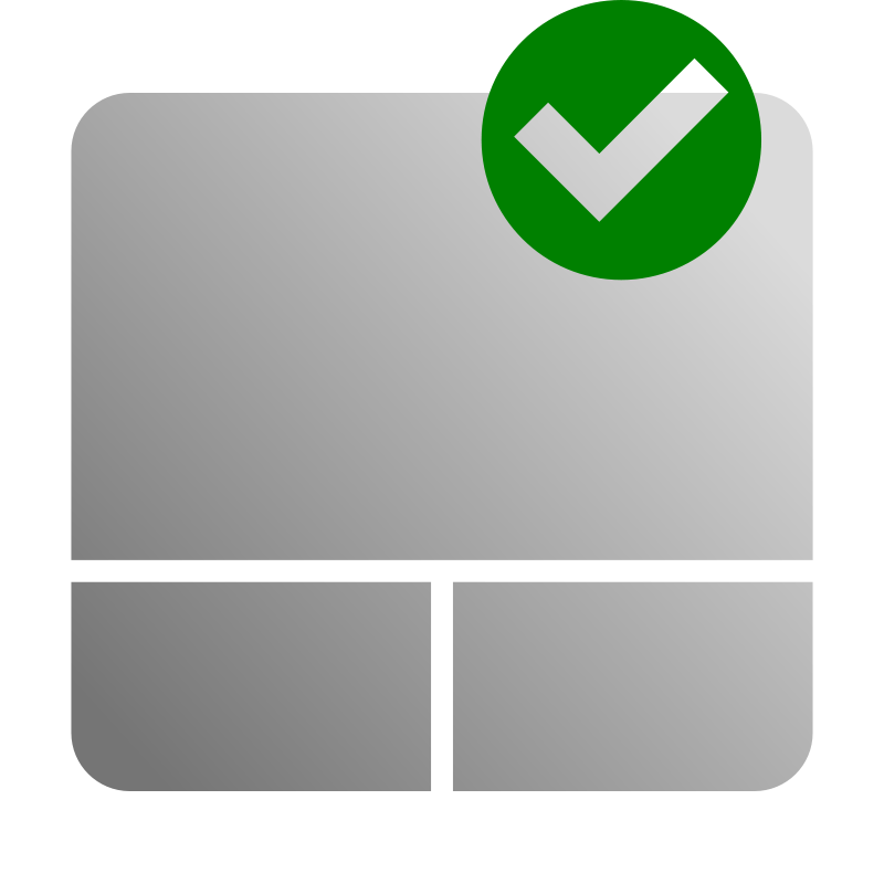 Free Touchpad Enable Icon