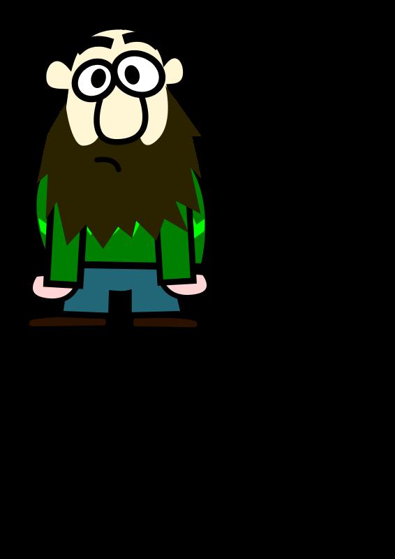 Free Señor calvo y con barba
