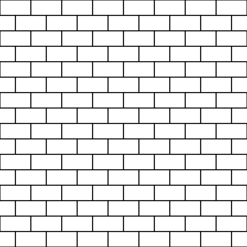 Free bricks white