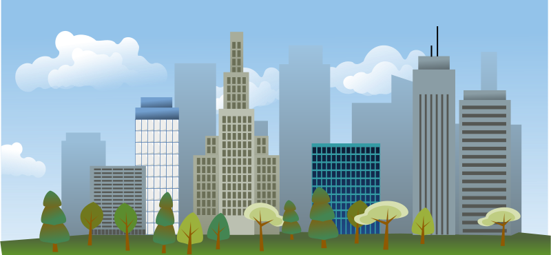 Free Clipart: City skyline | rg1024