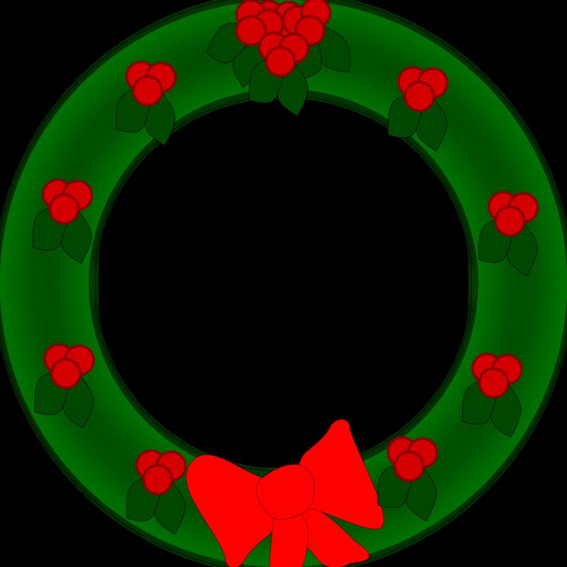 Free Holiday Wreath
