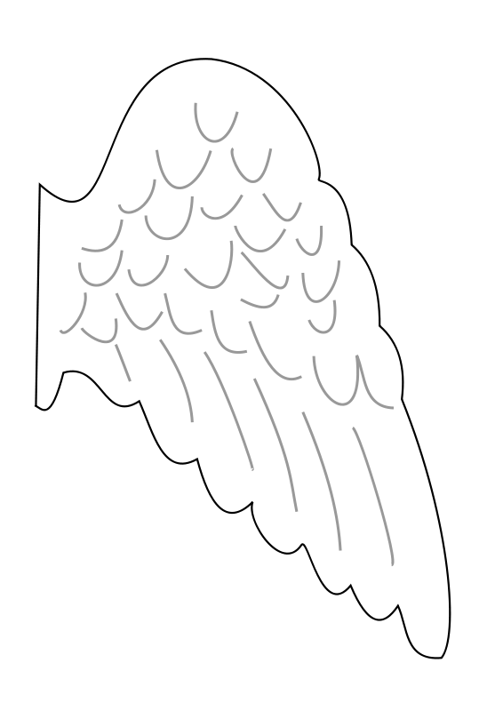 Free Angel's wing