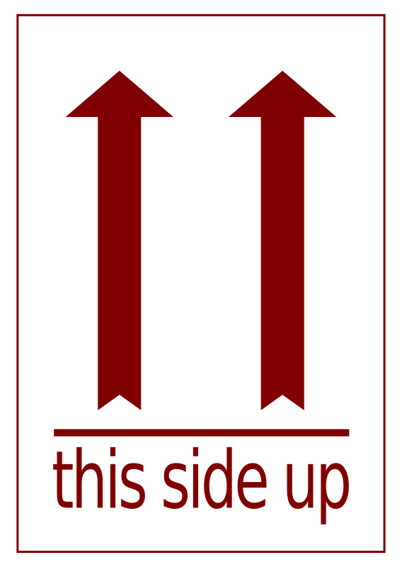 Free Side-up Label