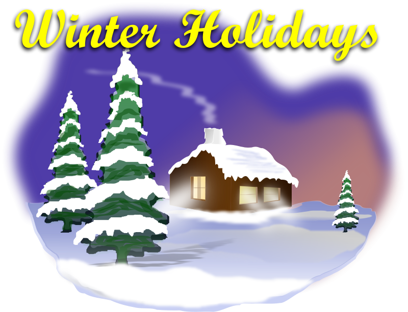 Free Winter Holiday Scene