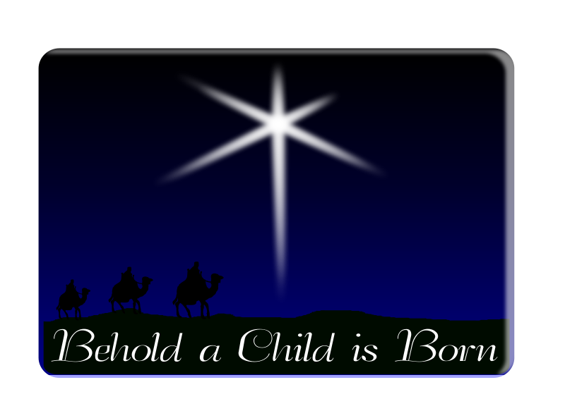 Free behold a child is born