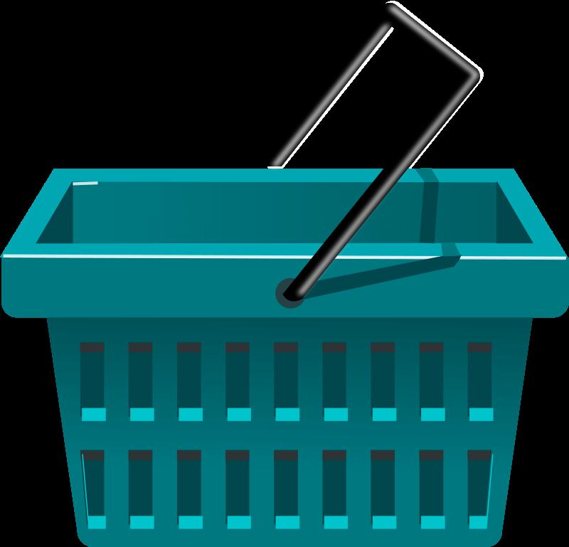 Free blue basket