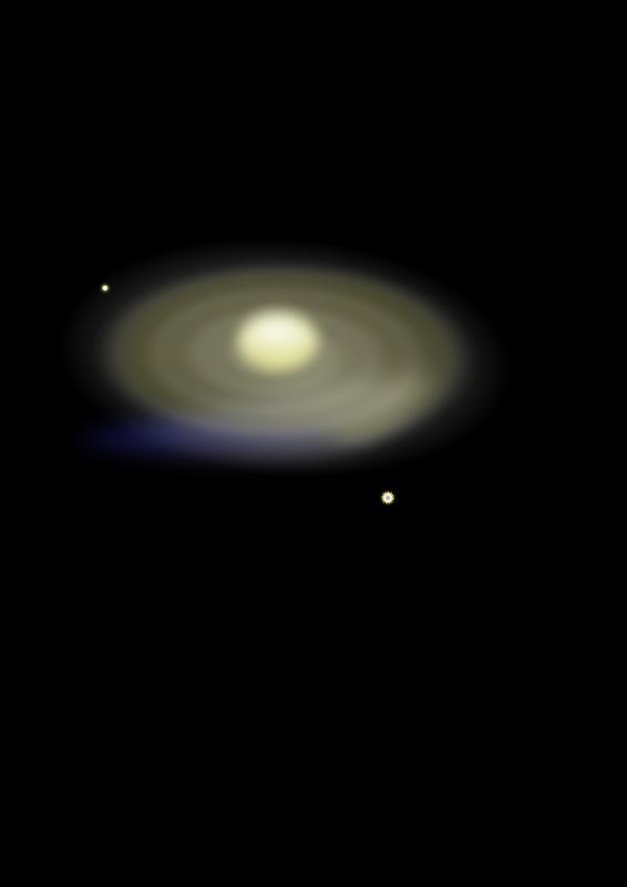 Free Spiral Galaxy m18