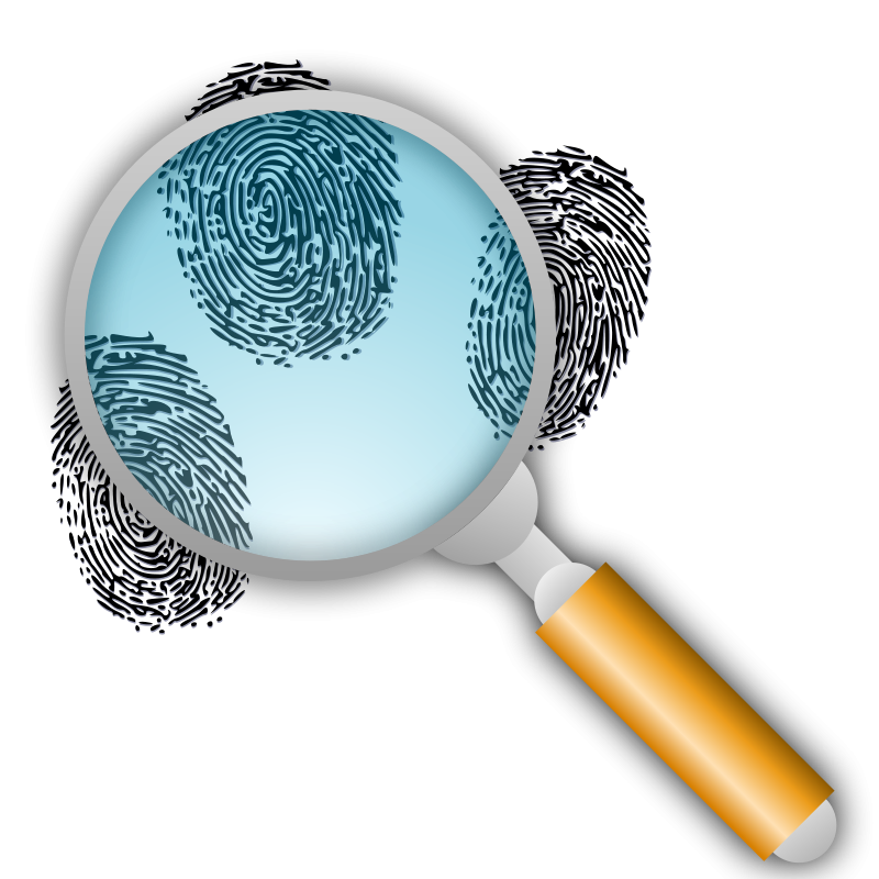 Free Fingerprint Search with Slight Magnification