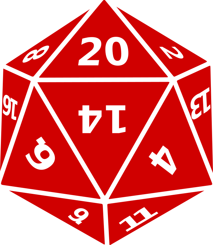 Free Twenty-Sided Dice
