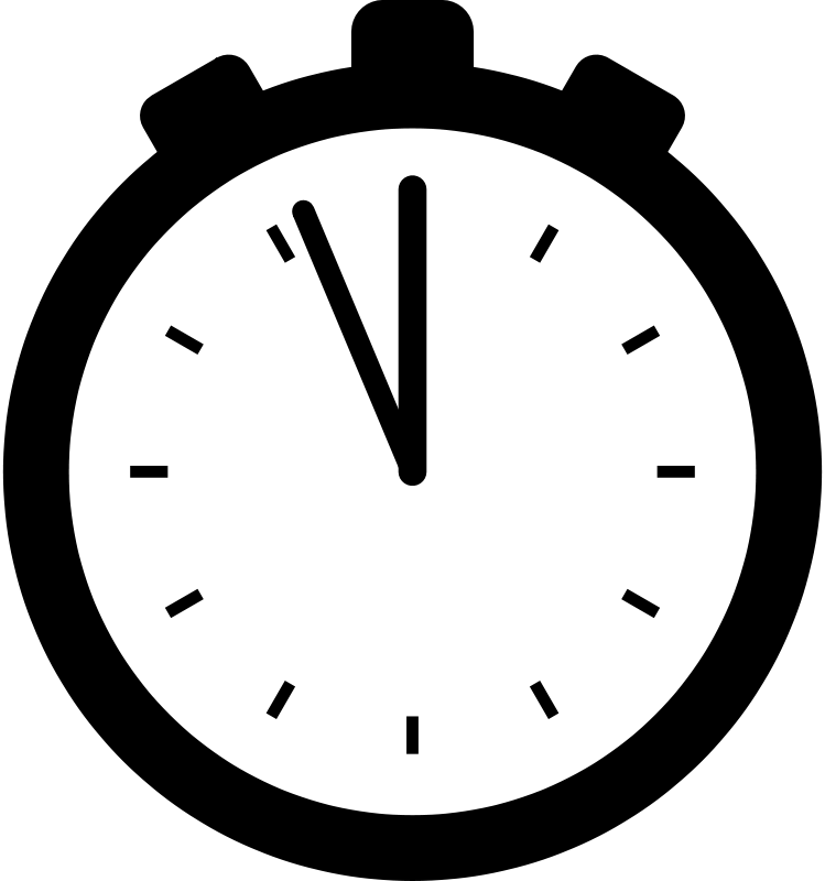 Free Stopwatch silhouette