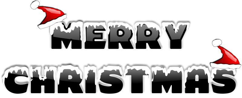 Free Clipart: MERRY CHRISTMAS 2010 (2) | inky2010