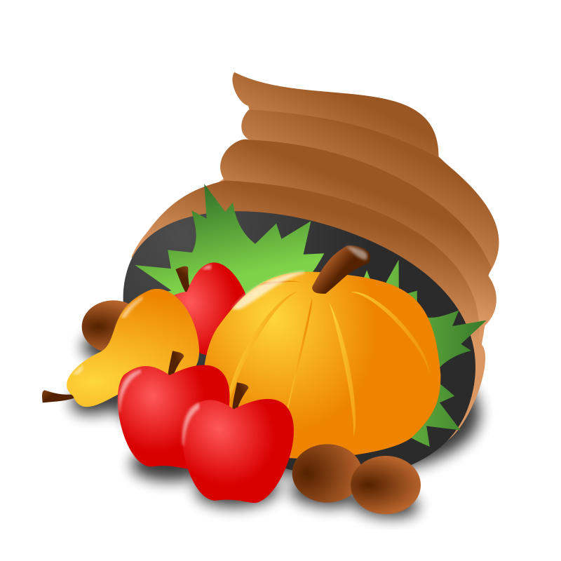 Free Clipart: Thanksgiving Day Icon | nicubunu