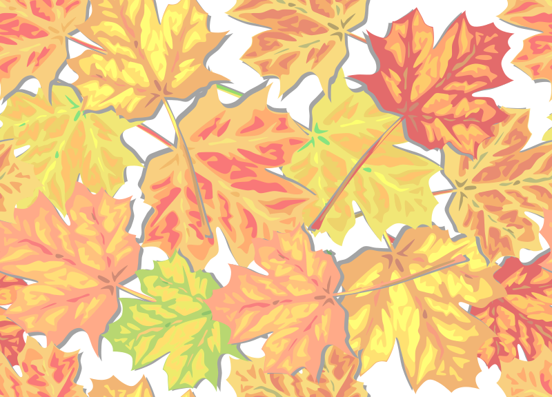 Free Fall Leaves
