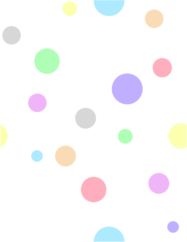 Free Polka Dots, in Pastel Colors
