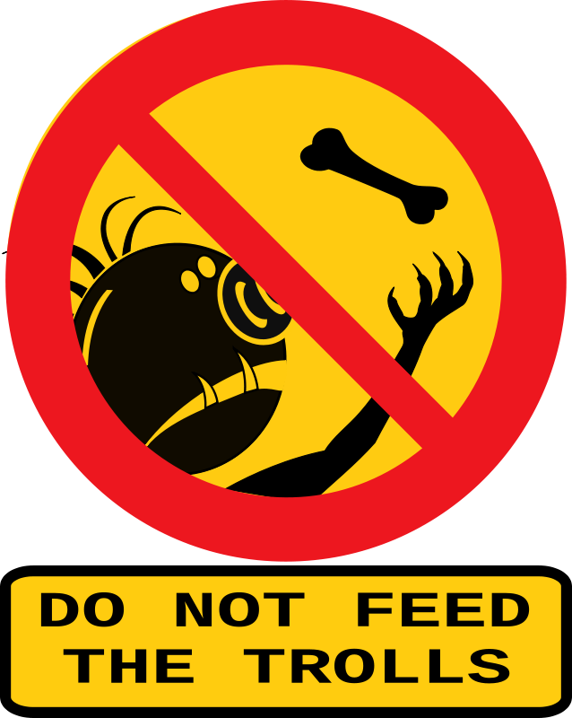 Free Do not feed the trolls