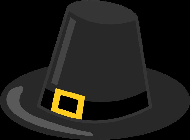 free clipart pilgrim hat with black band eady rh 1001freedownloads com
