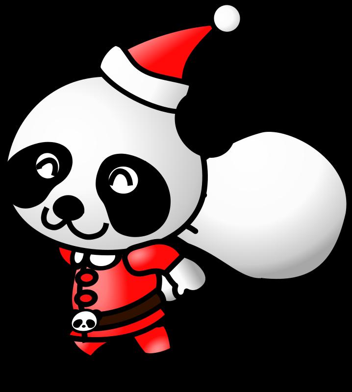Free Santa Panda