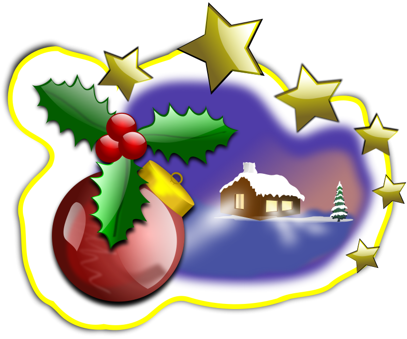Free Clipart: CHRISTMAS 004 | inky2010