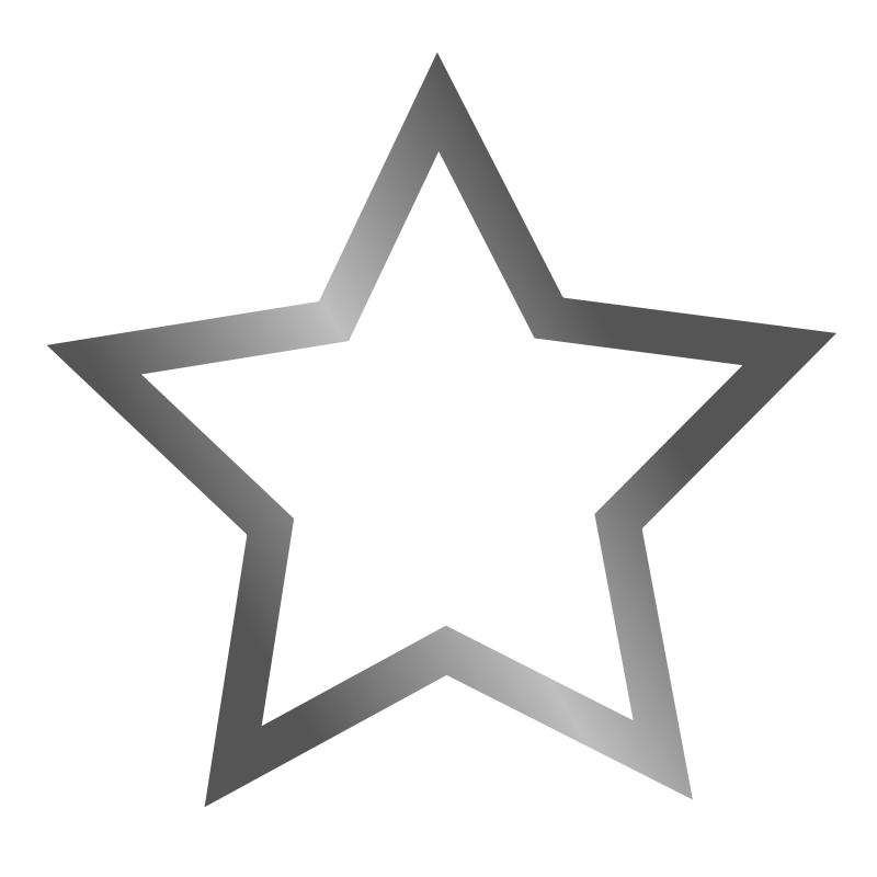 Free Outlined star icon