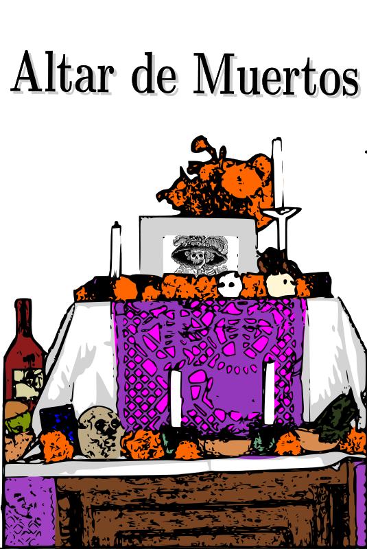 Free Clipart: Altar de Muertos | asrafil