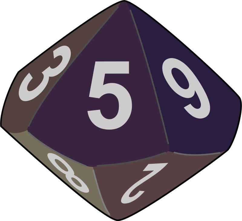 Free Clipart: Dice | yves_guillou