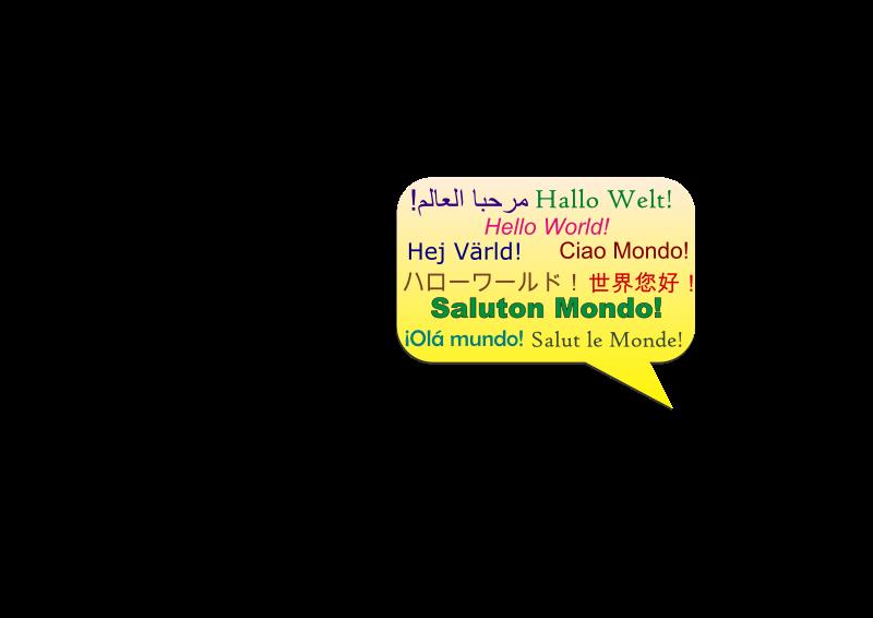 Free Saluton Mondo