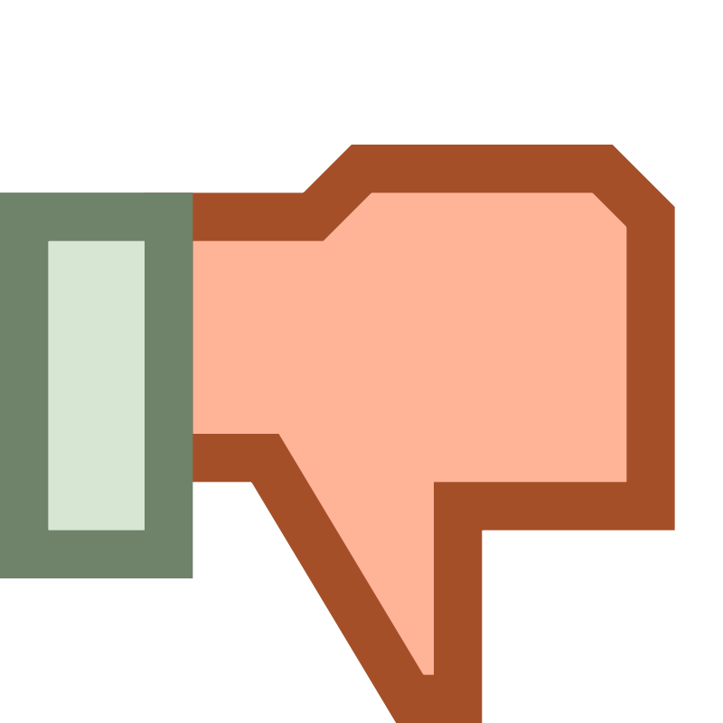 Free Thumb down Dislike