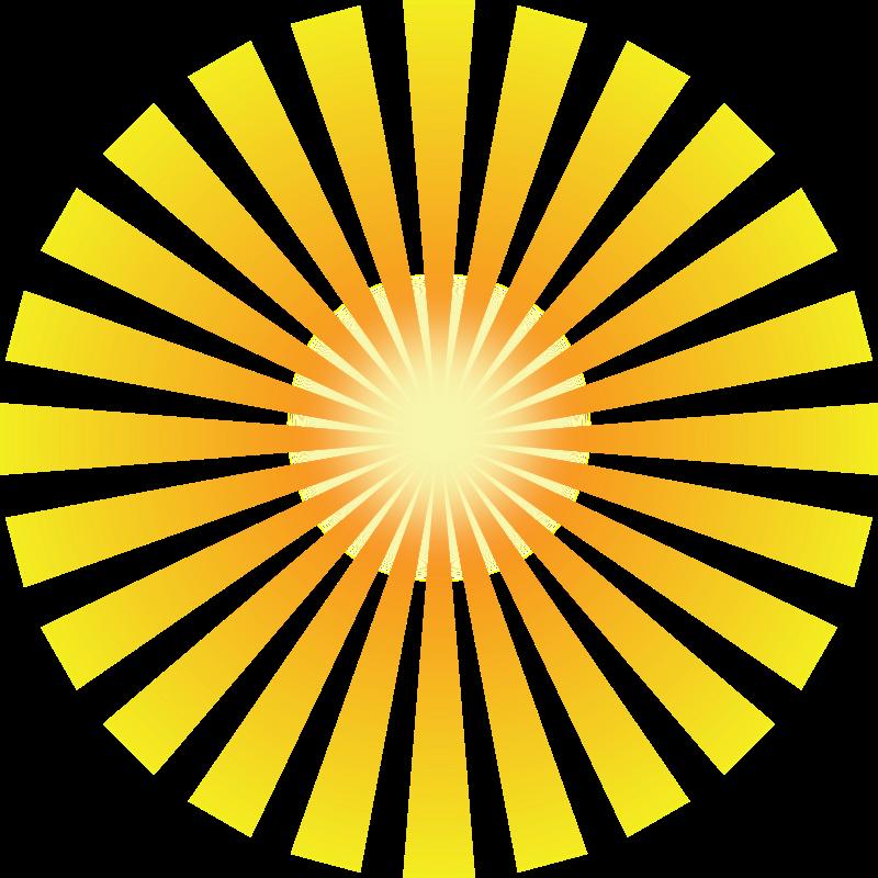 Free Golden Solar Rays