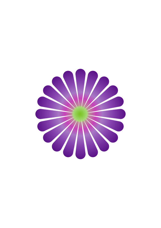 Free Purple Daisy 20